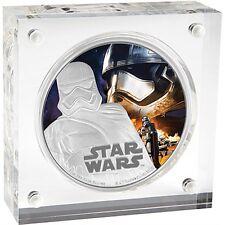 Niue Disney Star Wars $2, 1 oz Silver Coin,2016,The Force Awakens-Captain Phasma