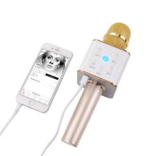 KTV Karaoke Microphone Mic Speaker Q7 Wireless Bluetooth Handheld For Cell phone
