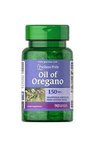 Puritan's Pride Oregano Oil 150 mg Oregano Öl 90 Kapseln