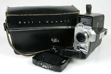 BELL   HOWELL AUTOLOAD 8MM MOVIE CAMERA IN CASE, ART DECO