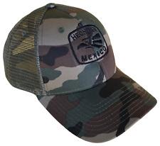 Hecho En Mexico Camouflage Mid Profile Mesh Trucker Cap Caps Hat Hats Snap  Camo 0522fcf20f0c
