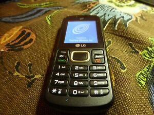LG 328BG  Tracfone GSM Black  #104