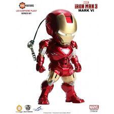 Kids Logic NATIONS SCI-FI SERIES 001 Iron man LED earphone Plug MARK MK 6