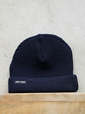Sailors Watch Cap by Saint James in Navy - Chunky Wool Knit Hat - Made in France