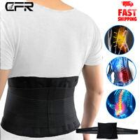 CFR Lower Back Pain Brace Lumbar Support Waist Belt Scoliosis Work For Men Women
