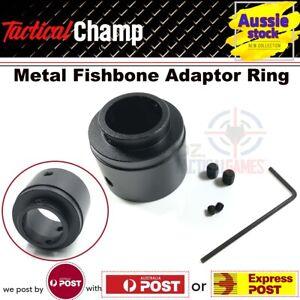 Upgrade Metal Fishbone Handguard Outtube Adaptor Ring JM Gen8 M4 Gel Blaster Toy