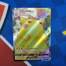 Pikachu VMAX - Vivid Voltage - Ultra Rare Full Art Pokemon Card (044/185)