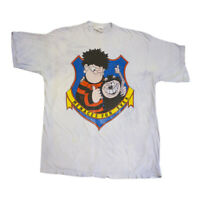 Dennis The Menace Menaces Forever Tshirt | Vintage 90s British Beano Comic VTG