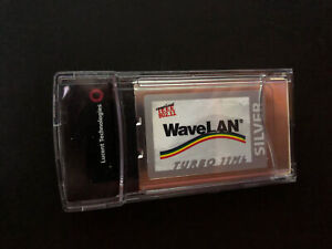 Lucent WaveLan Turbo Silver Wireless WIFI PCMCIA Card