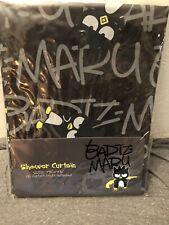 New Badtz Maru Shower Curtain Hello Kitty - Never Opened - Rare!
