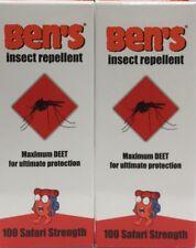 2x Ben's Insect Repellent Pump Spray  37ml