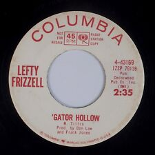 LEFTY FRIZZELL: Make One Cup Coffee For Road / 'Gator Hollow PROMO Country 45