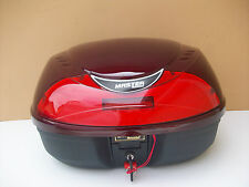 Large Detachable Motorcycle Top Case / Travel Trunk