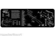 "Ruger Mini 14 Rifle TekMat Gun Cleaning Mat 12""x36"" w/ Parts Schematic 36-mini14"