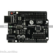 New SainSmart UNO R3 Starter Board MEGA328P-AU ATMEGA16U2 for Arduino Free Cable
