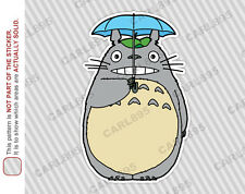 Ghibli Totoro Umbrella Car Truck SUV Vinyl Bumper Sticker