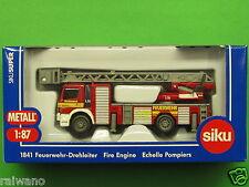 1:87 Siku Super 1841 Feuerwehrdrehleiter Blitzversand per DHL-Paket