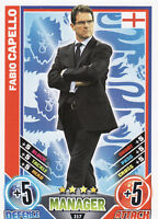 Match Attax Euro 2012 England Cards Pick From List