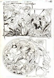 Wonder Woman Annual #6 p.47 - Artemis Action - 1997 Signed art by Ed Benes