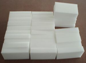 """30 BULK PACK Magic Sponge Eraser Melamine Cleaning Foam 3/4"""" Thick USA Seller"""