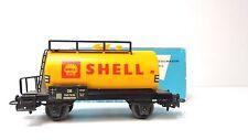 Mineralöl-Kesselwagen Shell  DB Märklin 4502 hellblaue OVP
