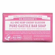 Dr Bronner's - Cherry Blossom Pure Castile Bar Soap Vegan Natural