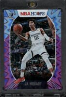 2021 NBA Hoops Ja Morant 2nd Year Card Purple Explosion Holo Memphis Grizzlies