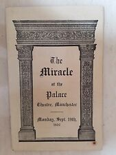 1932 Palace Theatre Manchester: PHYLLIS STANLEY FLORENCE HUNT in THE MIRACLE