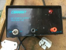 Commant dc power supply amp.