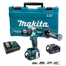 Makita DHP481RTE 18V 5.0Ah Cordless Brusless Hammer Drill Driver / 220V Charger