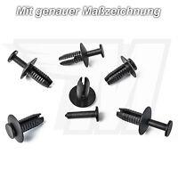 10x Clip Stoßstange Befestigung Spreizniete für BMW Audi Skoda uvm   51111908077