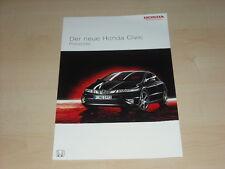46087) honda civic precios & extras folleto 02/2006