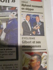PHILIPPE GILBERT : GAGNE LE PRIX DU WORLD TOUR 2011 - 28/10/2011