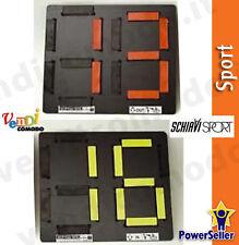 Cambio giocatori tabella bifacciale SCHIAVI SPORT componibile cm 26hx14 0-99