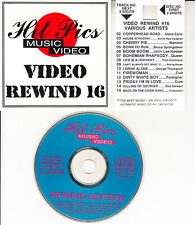REWIND #16 VCD QUEEN, STEVE EARLE, BRUCE SPRINGSTEEN, GEORGE THOROGOOD, THE CURE
