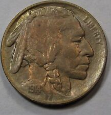 1914 Buffalo Nickel. MS, Gem BU.  Deep Toning on Both Sides.