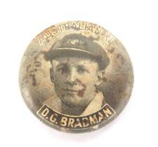 .1930s DON BRADMAN AUSTRALIAN XI BADGE.
