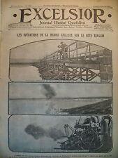 WW1 N° 1922 BULGARIE MARINE ANGLAISE OCCUPATION DE KARA-BOUROUN EXCELSIOR 1916