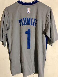 Adidas NBA Jersey Brooklyn Nets Mason Plumlee Grey Short Sleeve sz S