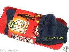 1 pair x Size 6 -11  HEAT CONTROL The Super Thermal Sock-Warmth rating 2.4tog