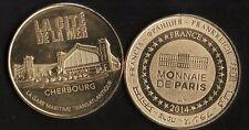 Pièce de collection - Cité de la Mer Cherbourg - Gare maritime transat. 2014