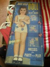 1943 BIG BIG DOLL BY QUEEN HOLDEN PAPERDOLLS WITH BOX