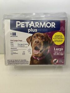 Pet Armor Plus for dogs Large 45-88 lbs. 3 applications