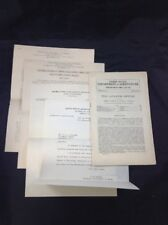 1932 USDA Japanese Beetle Pamphlet and Documents Letters Smith and Hadley