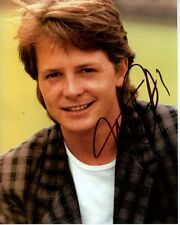 MICHAEL J. FOX Signed Autographed Photo