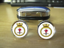 COMMANDO HELICOPTER FORCE CUFFLINKS (IMAGE BLURRED TO PREVENT INTERNET THEFT)