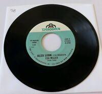 Alex Leon y Su Orquesta Esa Mujer / Te Entro TH RODVEN 1450 VG+ 45 RPM #718