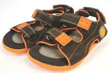 LEGO Toddler Orange/Brown Sandals Slip On Shoes (Read Desc)