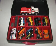 Lot of 7 Vintage Schaper Stomper 4x4 Dodge, Jeep, Tow Truck, Corvette w/Case