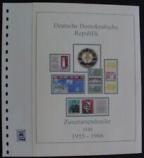 DDR ZD 1955-1966  Vordruck farbig TOP Bilder in Beschreibung